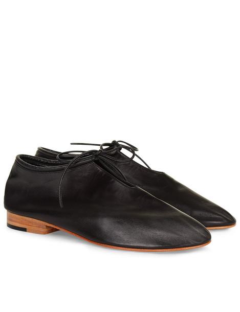 Black Kid Leather Glove Boots