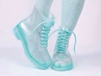 shoes pastel blue shoes fashion boots