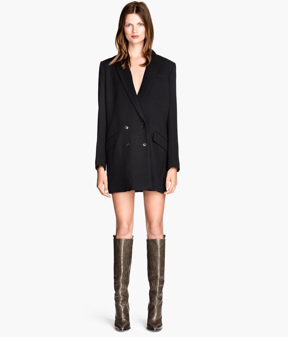 H&M Long wool jacket £59.99