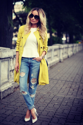 rock and roses,jeans,top,shoes,sunglasses,jewels,bag,coat