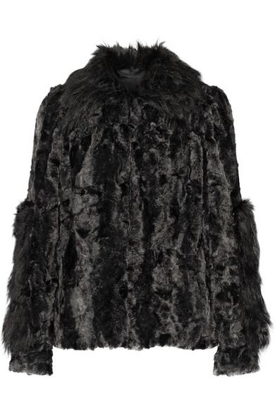 Anna Sui | Ombré faux fur coat | NET-A-PORTER.COM