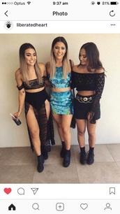 skirt,festival,maxi skirt,black,lace,slit maxi skirt,thigh-high slit,see through,pattern