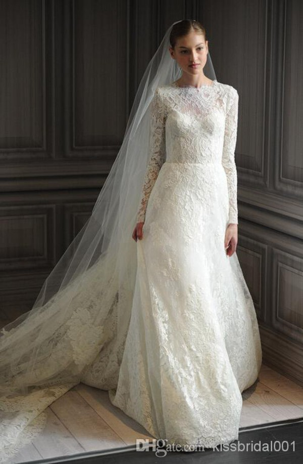 Wholesale Lace Wedding Dresses - Buy Vintage Lace 2014 Wedding ...