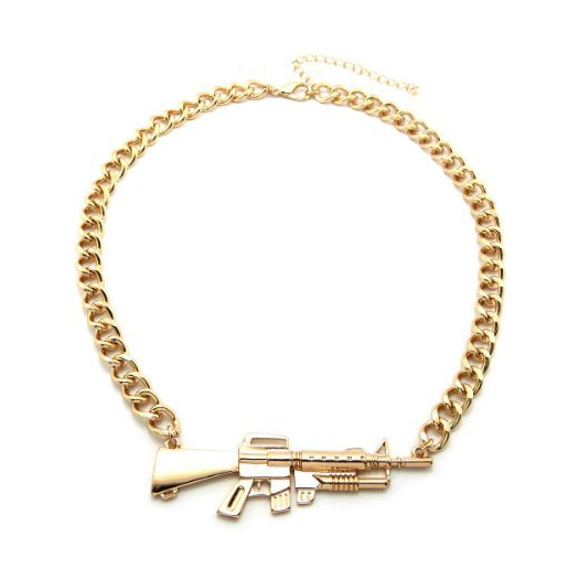 The aka 47 necklace