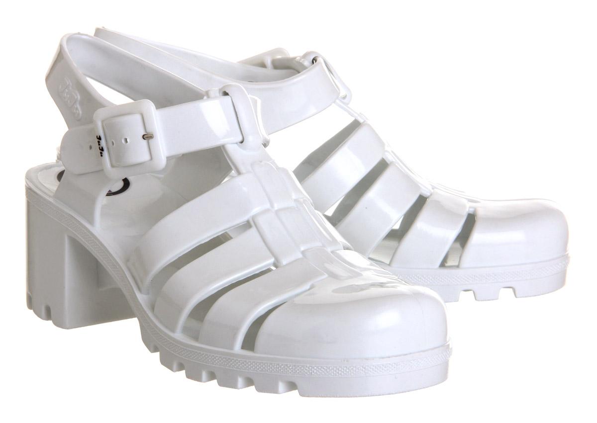 JuJu Babe Hi Juju Jelly White - Sandals