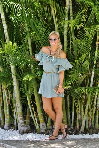 b soup blogger dress jewels sunglasses bag belt shoes