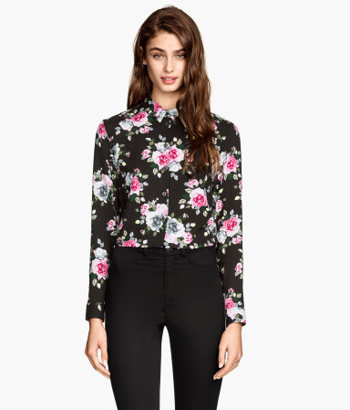 H&m short blouse $17.95