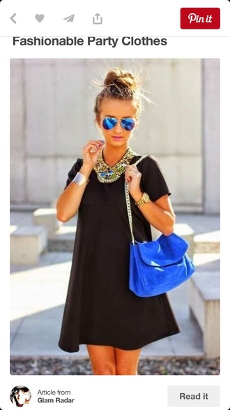 bag blue vibrant style colorful blueish excentric