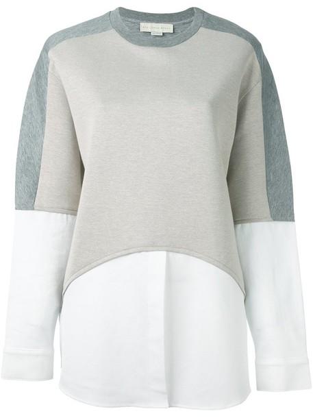 Stella McCartney sweatshirt women cotton grey sweater