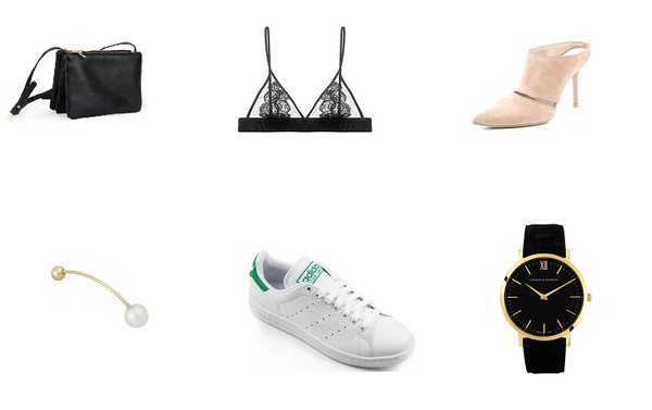 mafalda bag underwear jewels shoes