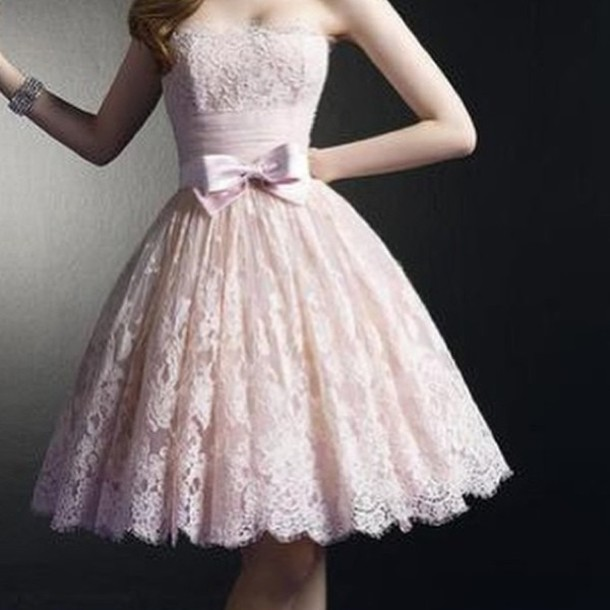 dress pink flowers ribbon silk cream dress pink dress prom dress long prom dress vintage dress boho dress bohemian dress lace socks prom short short dresd