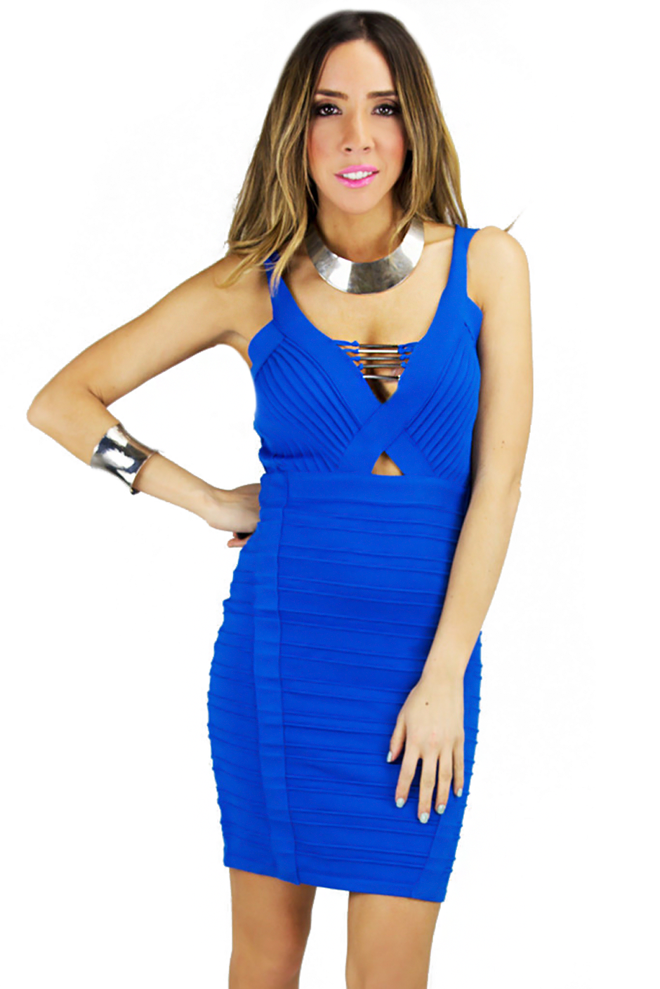BALMIN BANDAGE BODYCON DRESS | Haute & Rebellious