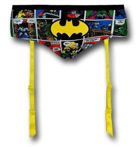Batgirl comic women's hipster briefs w/garters