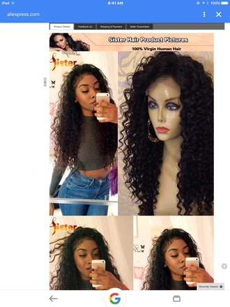 hair accessory curly wig sister hair products aliexpress virgin 100 human hair