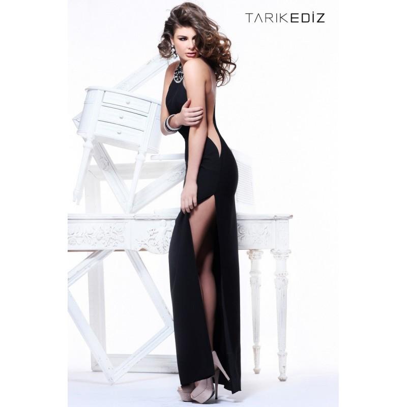 92145 Tarik Ediz Gala Elbise - HyperDress.com