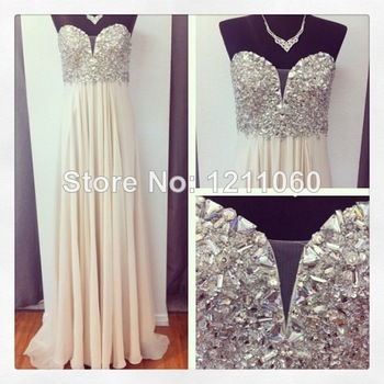 Aliexpress.com : Buy Long Elie Saab Evening Dress 2014 Real photos Beaded Long Sleeve Chiffon Evening Dress Long Prom Dress Formal Evening Gowns   from Reliable gown evening dress suppliers on BestDressProvider