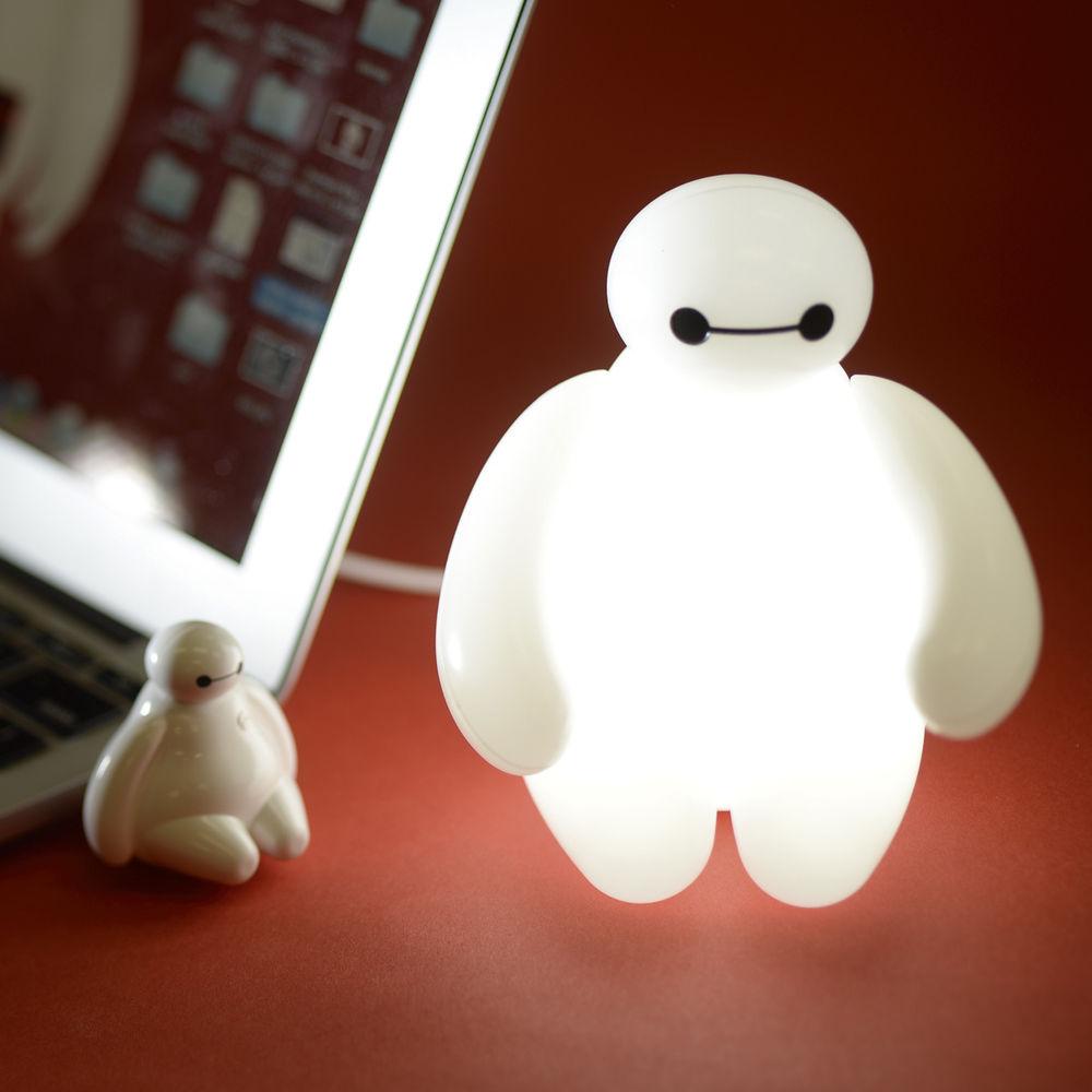 Big Hero 6 Baymax 12cm Tall USB LED Lamp FREESHIP WORLDWIDE