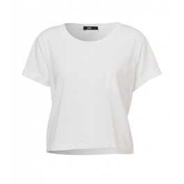 Crop pocket tee