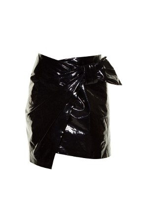 Anders faux patent-leather mini skirt | Isabel Marant | MATCHESFASHION.COM US