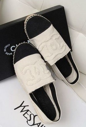 replica luxury shop                          - white flat chanel