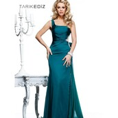 dress,wedding dress,high-low dresses,tarik ediz dress