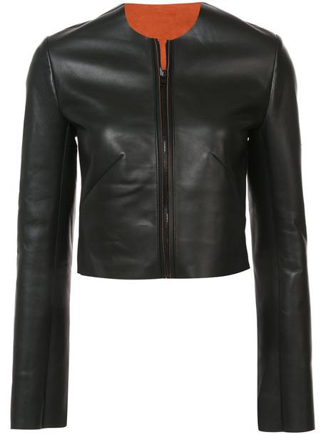 jacket leather jacket women leather black