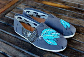 shoes dreamcatcher toms navy
