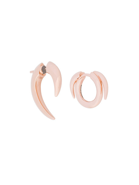 rose gold rose women earrings gold silver grey metallic jewels