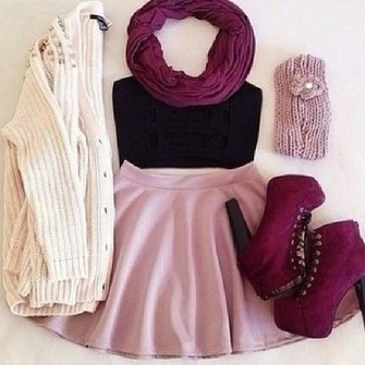 scarf jacket sunglasses shoes tank top skirt cardigan red shoes cute outfits scarf red
