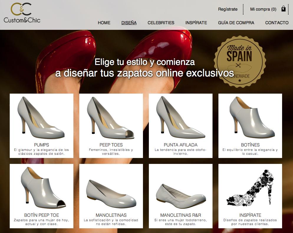 Zapatos diseñados por mí con Custom & Chic | Crímenes de la Moda en stylelovely.com