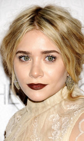 jewels earrings ashley olsen asos dress make up make-up