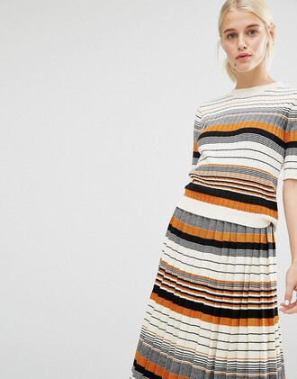 sweater top asos clothes striped top