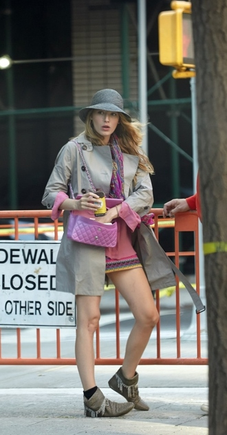 coat blouse blake lively