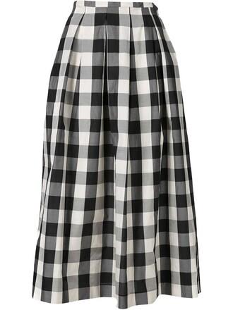 skirt long black