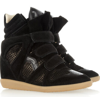 shoes isabel marant high top sneakers
