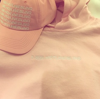 sweater pink light pink drake ovoxo white