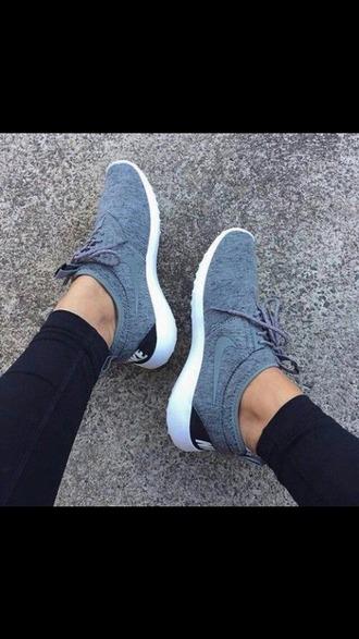 shoes basket nike gris lacets