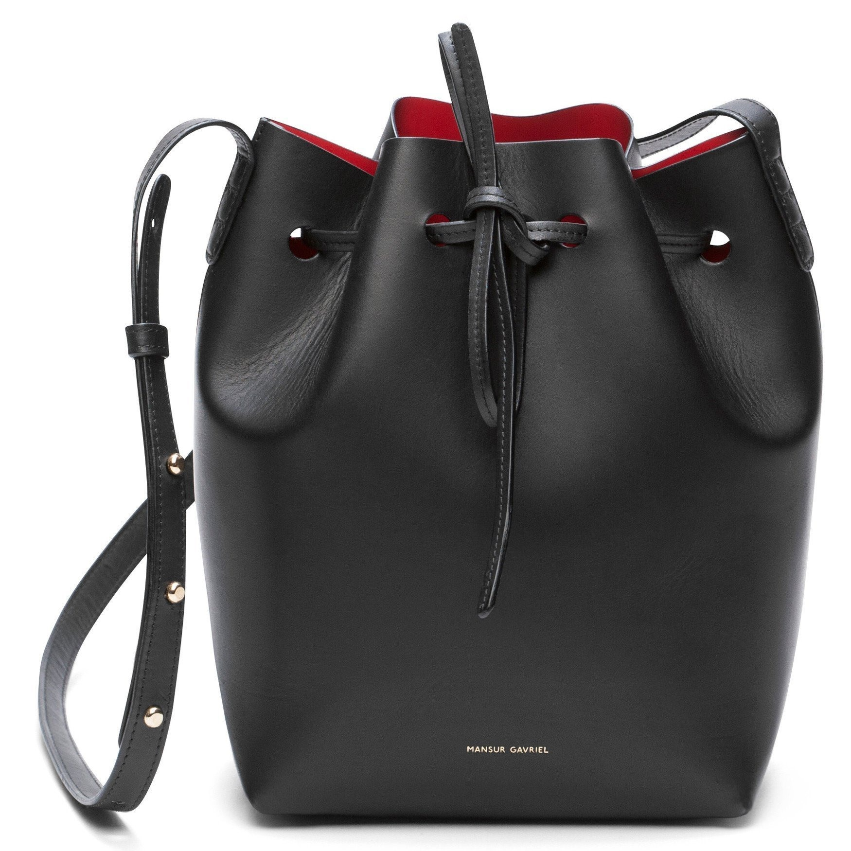 Black Mini Bucket Bag - Flamma