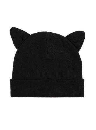 hat cute beanies cat ears hat with two cat ears cat ear hat black cat ears beanie style accessories