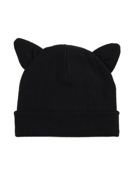 62d55ed935e hat cute beanies cat ears hat with two cat ears cat ear hat black cat ears