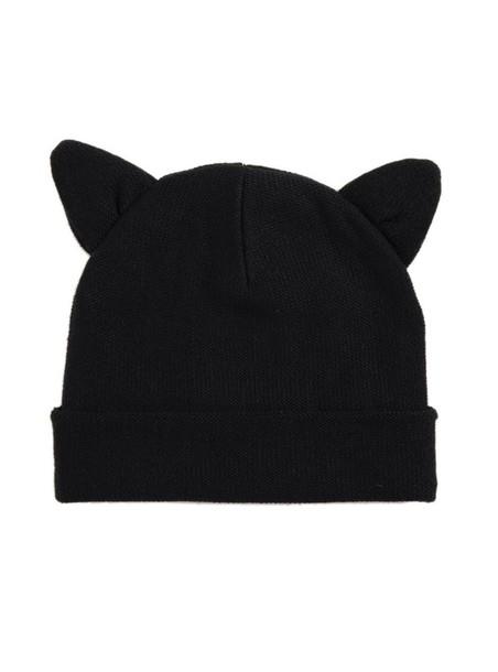 hat cute beanies cat ears hat with two cat ears cat ear hat black cat ears 9089f2f573a