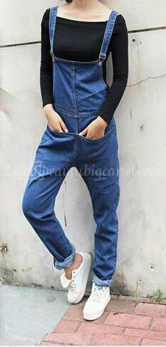 Lethalbeauty ? vintage denim overalls