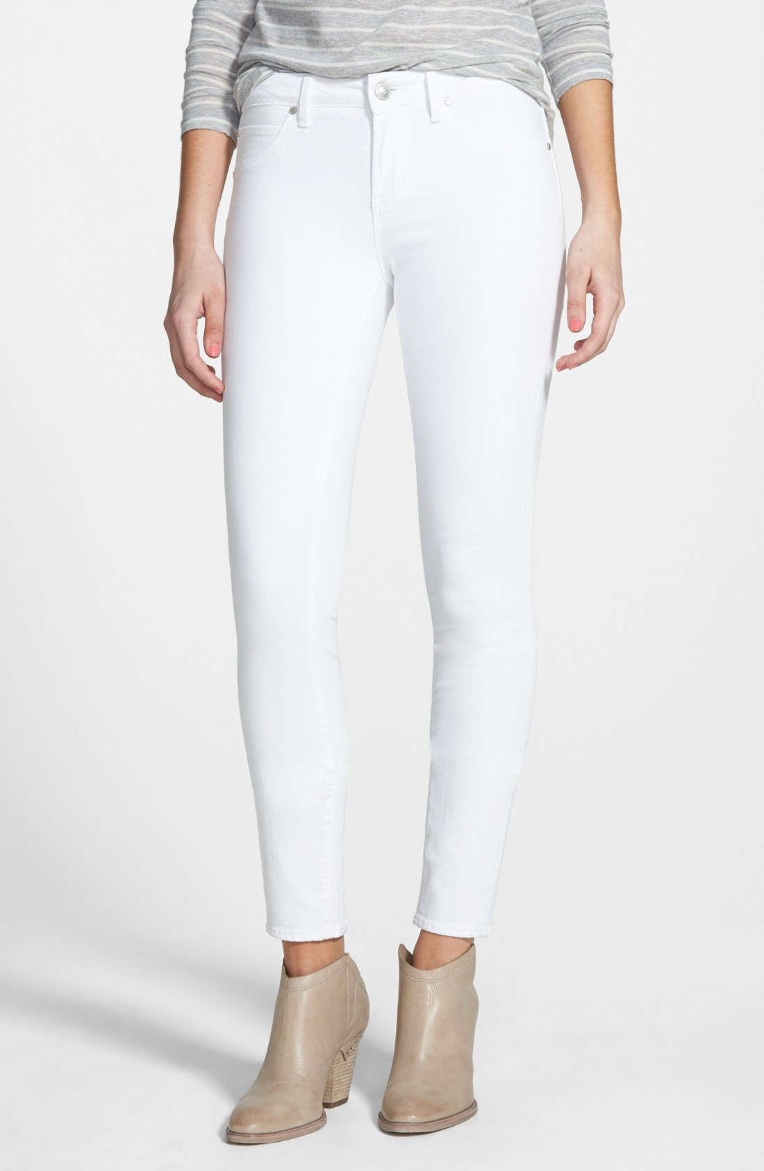 fa286f48d7 Articles of Society  Sarah  Skinny Jeans (White)