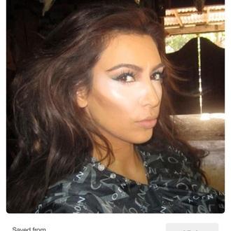 top contouring kim kardashian