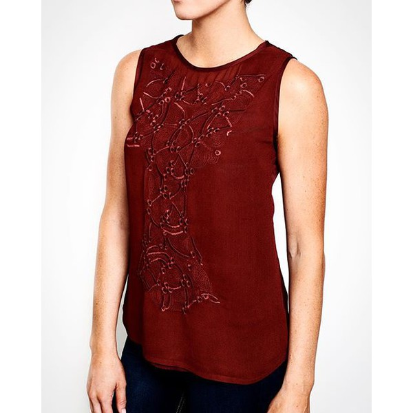 top pantone stylish clothes marsala chic jommango beautiful fashionista fashion outfit outfit idea ootd style embroidered date outfit first date date outfit work clothes work clothing dinner burgundy burgundy top fall outfits