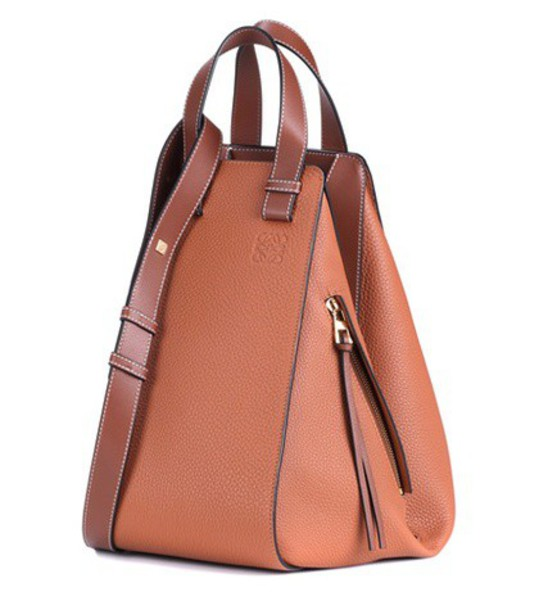 LOEWE leather brown bag