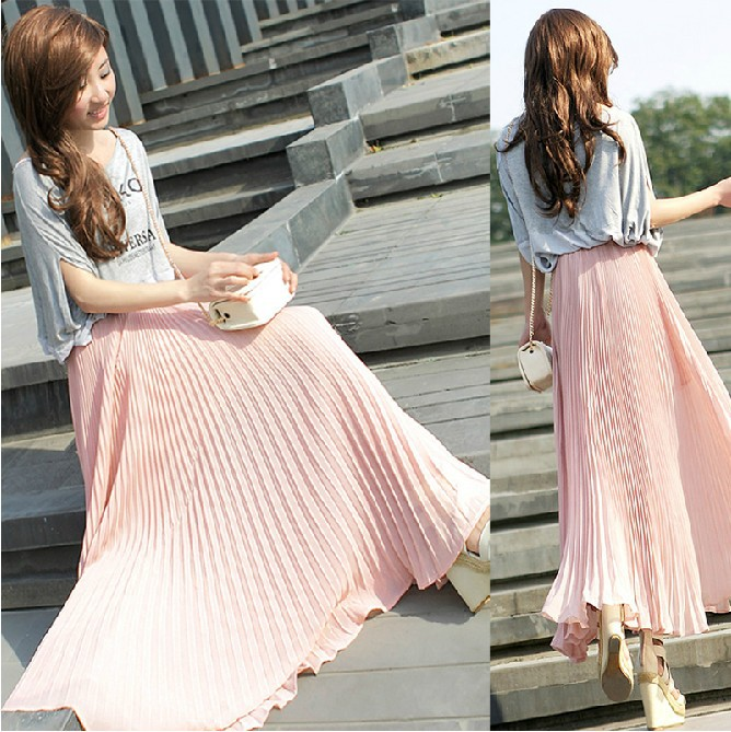 Summer womens new candy bohemian sexy casual slim chiffon drape ...