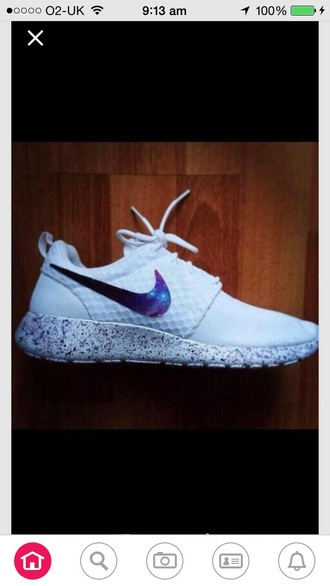 shoes white galaxy nike running shoes