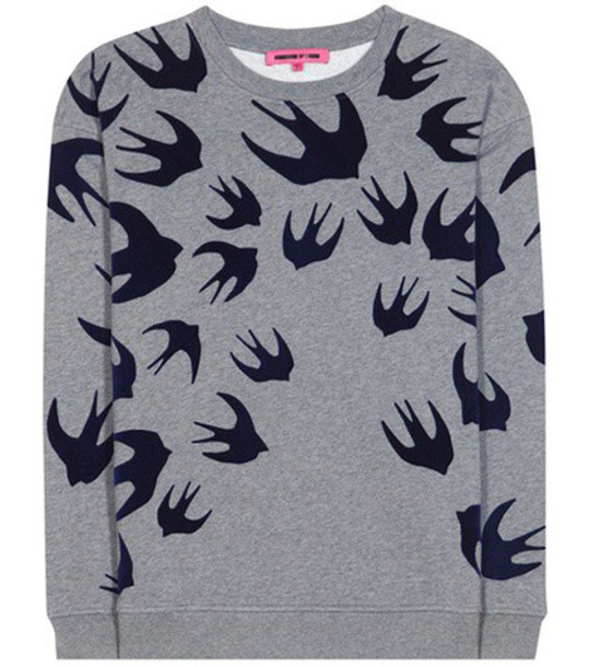 McQ Alexander McQueen sweatshirt cotton grey sweater