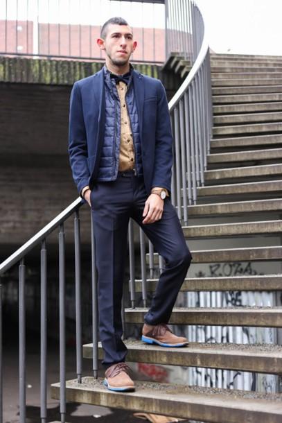 blue perk menswear blogger mens pants